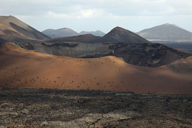Timanfaya mountains - free stock photo