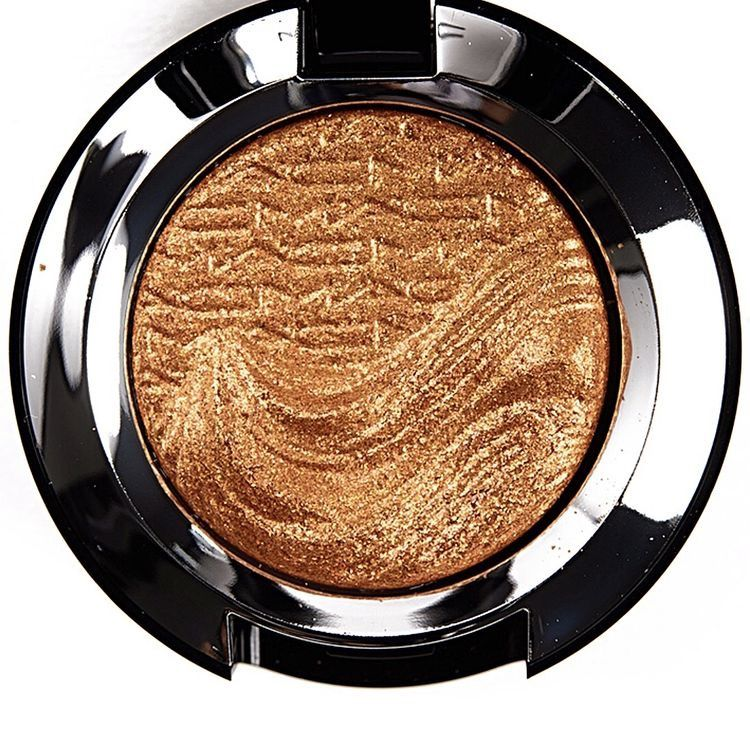 """MAC """"Gold Metalist"""" is a warm gold with a sparkle finish"""