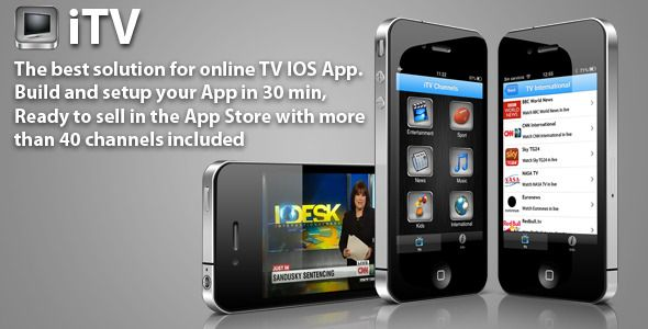 iTV Streaming TV for iPhone and iPad Iphone, Mobile