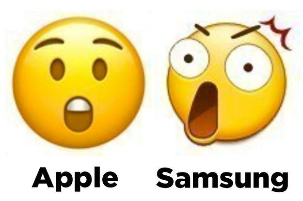 愕然 Iphoneの絵文字 他の端末だと全然違って見えることが発覚 Emojis