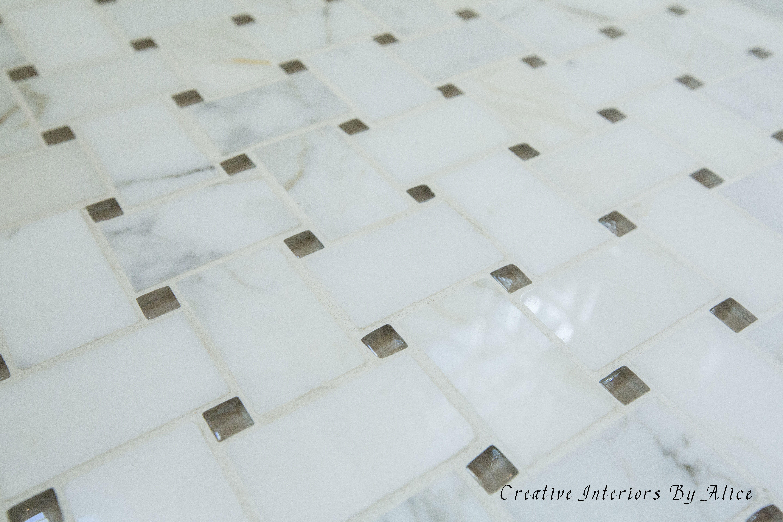 Bathroom tile design by Alice Silverman. #BathroomTileIdeas ...