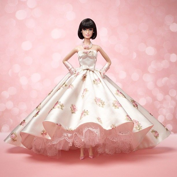 Springtime Gala Barbie - OOAK Barbie Convention doll by Zlatan ...