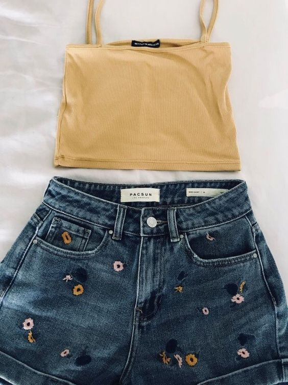 Photo of 50 + Cute And Trendy Summer Outfits To Make you cool and Perfect – Page 8 of 54 #trendyoutfits