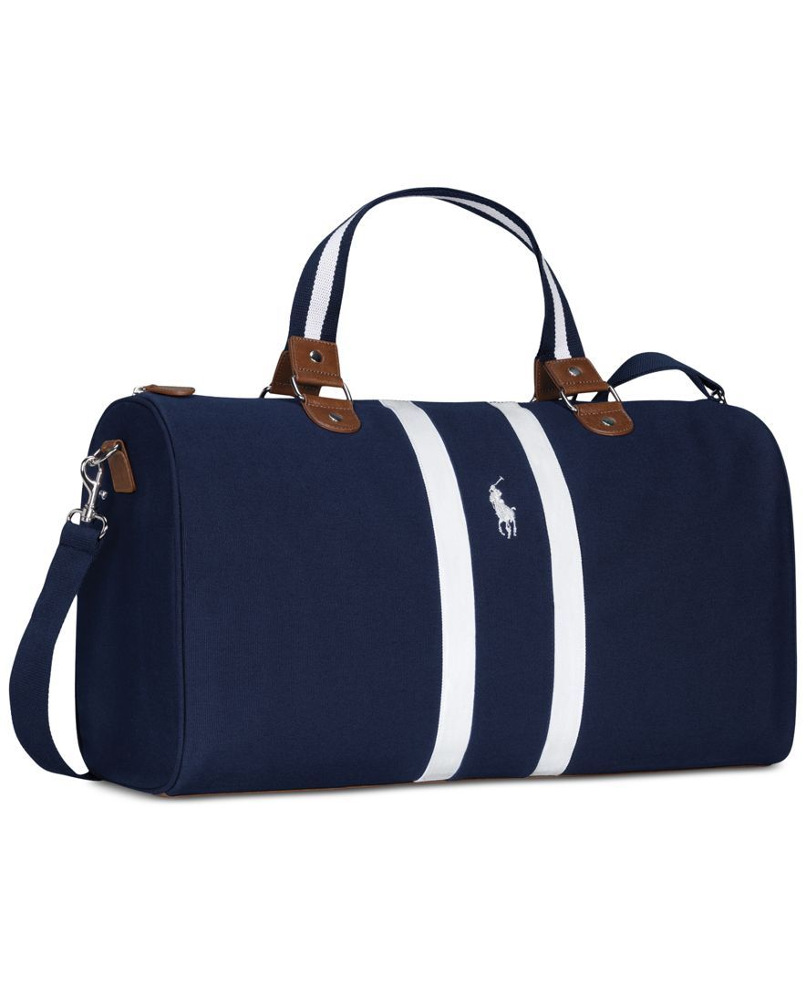 Receive a Complimentary Duffel Bag with a large spray purchase from the  Polo Ralph Lauren fragrance collection b2b3ed42fecf