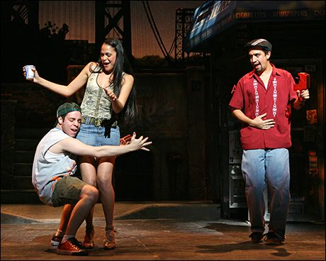 Pin By Abigail Mendoza On In The Heights Costume Design In The Heights Lin Manuel Lin Manuel Miranda