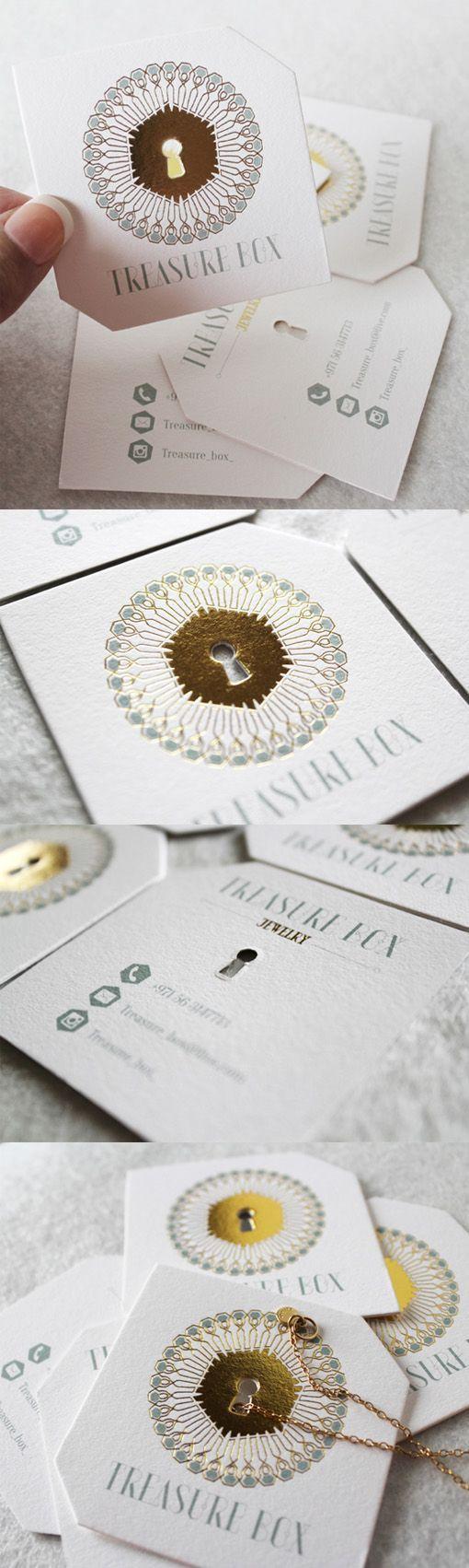 Elegant die cut and gold foil embossed business card for a jewelry elegant die cut and gold foil embossed business card for a jewelry store reheart Gallery