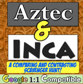 aztecs and incas compare and contrast