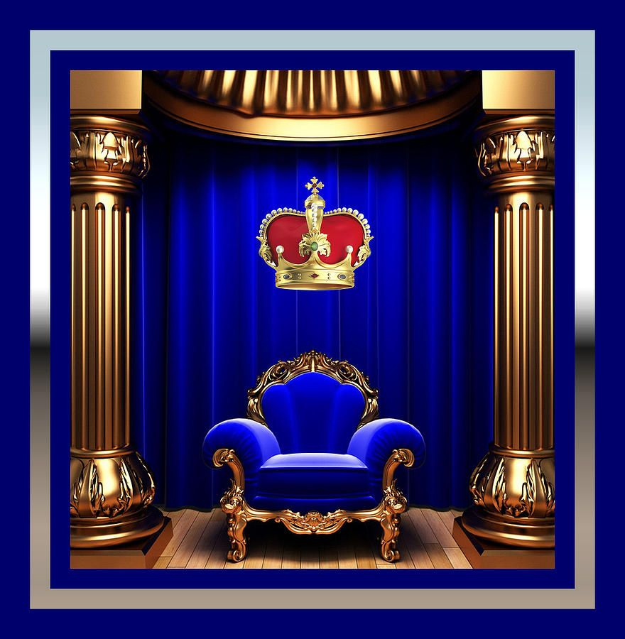 His Majesty Painting His Majesty Fine Art Print Luxury Chair Design Luxury Chairs Design