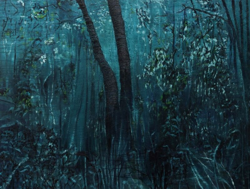 Floresta, 2014 | Oil on canvas | 200 x 150cm