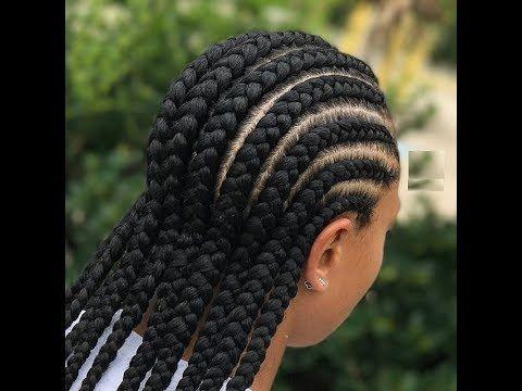 Ghana Weaving Styles Simple Hairstyles For Beautiful Ladies