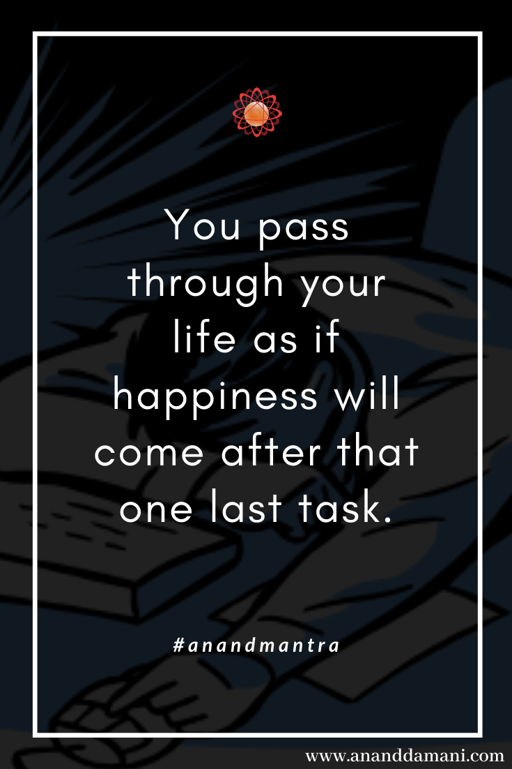 Work Stress Quotes #anandmantra