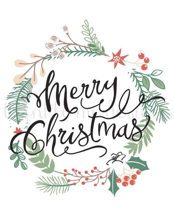 Christmas Printable Merry Christmas Wall Art Holiday Etsy In 2021 Merry Christmas Printable Christmas Wall Art Merry Christmas Calligraphy