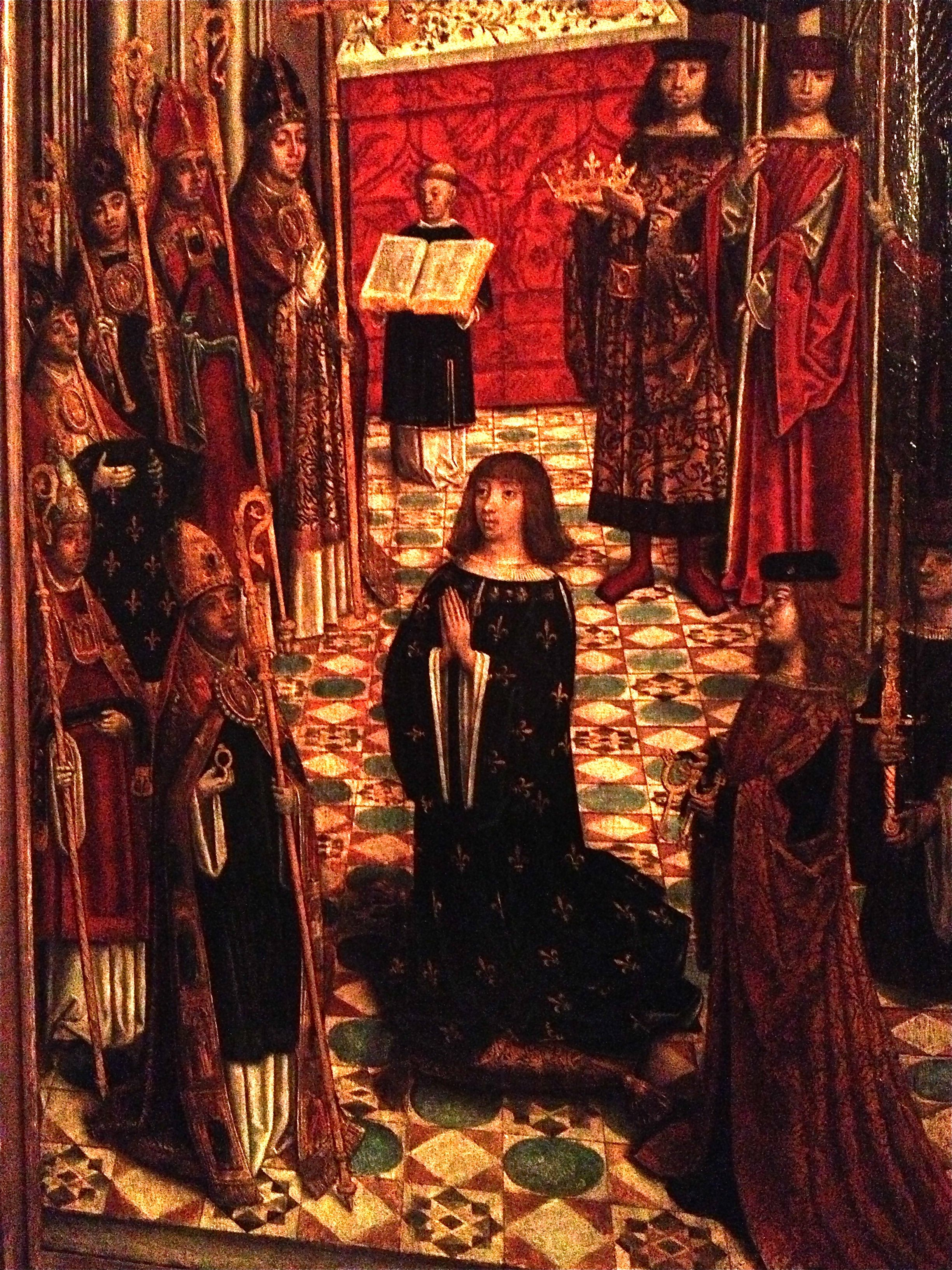 Coronation of Louis XII: