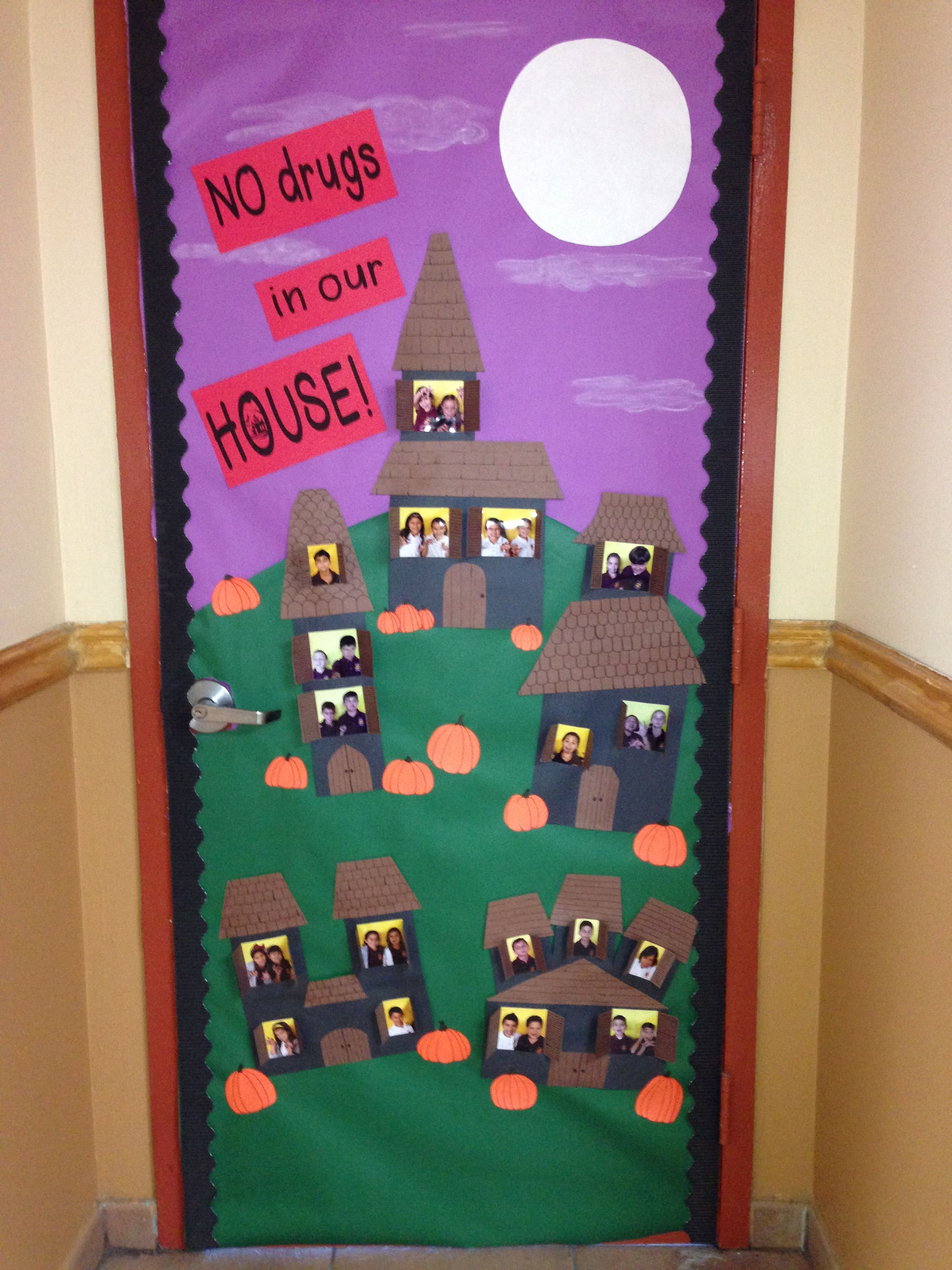 Red Ribbon Week Door Decorating Inspiration | Red Ribbon ...