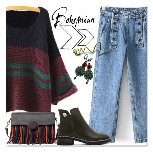 """""""Bohemian"""" by jecakns ❤ liked on Polyvore featuring Rustico"""