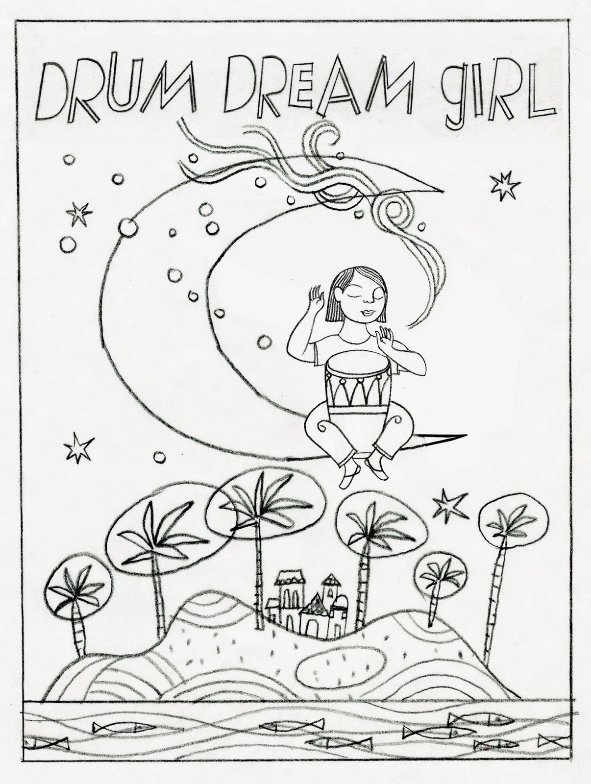 Finding My Rhythm With The Drum Dream Girl