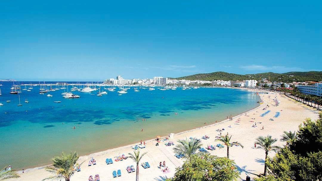 San Antonio Ibiza Spain San Antonio Ibiza Ibiza Beach San