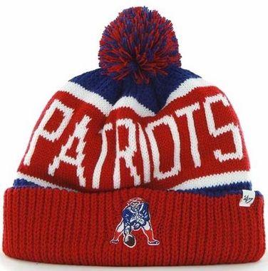 74932fe19c2024 New England Patriots 47 Brand NFL Calgary Cuffed Knit Hat | Sports ...
