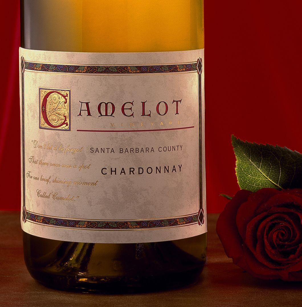 Camelot Wine Label Design Was Created By Patti Britton Of Britton Design In Sonoma California This Was For Wine Label Design Label Design Custom Wine Labels
