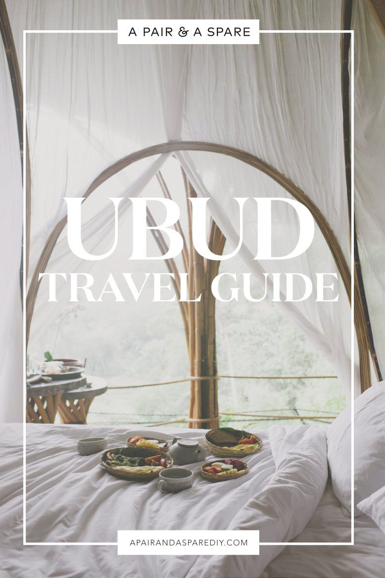 A Pair & A Spare | Ubud Travel Guide