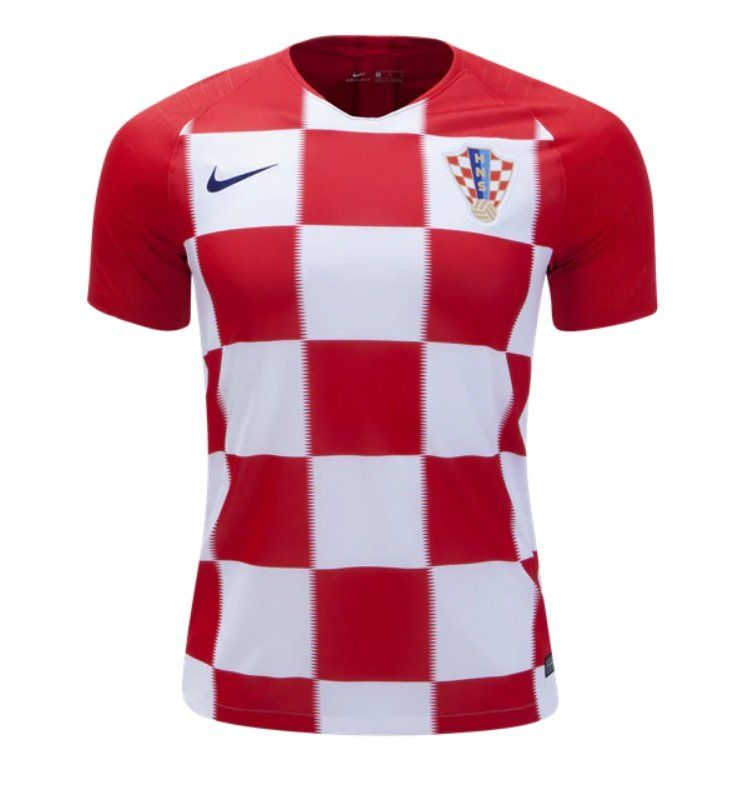 598622110c8 Fan+in+Shirt+Croatia+Home+Jersey+SOCCER+2018-2019+-red white  LFCPreSeason   ICC2018  Arsenal  ARSPSG  LFC  FCBarcelona  realmadrid  bayern  football  ...