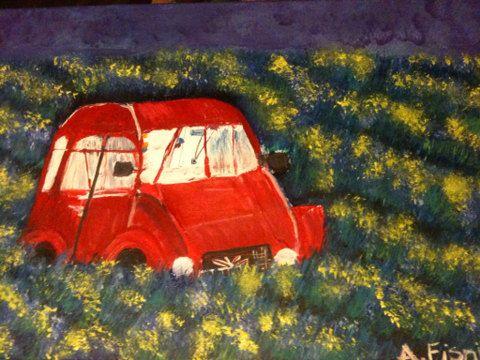 Paesaggio & vecchia auto on Etsy, 268,96€