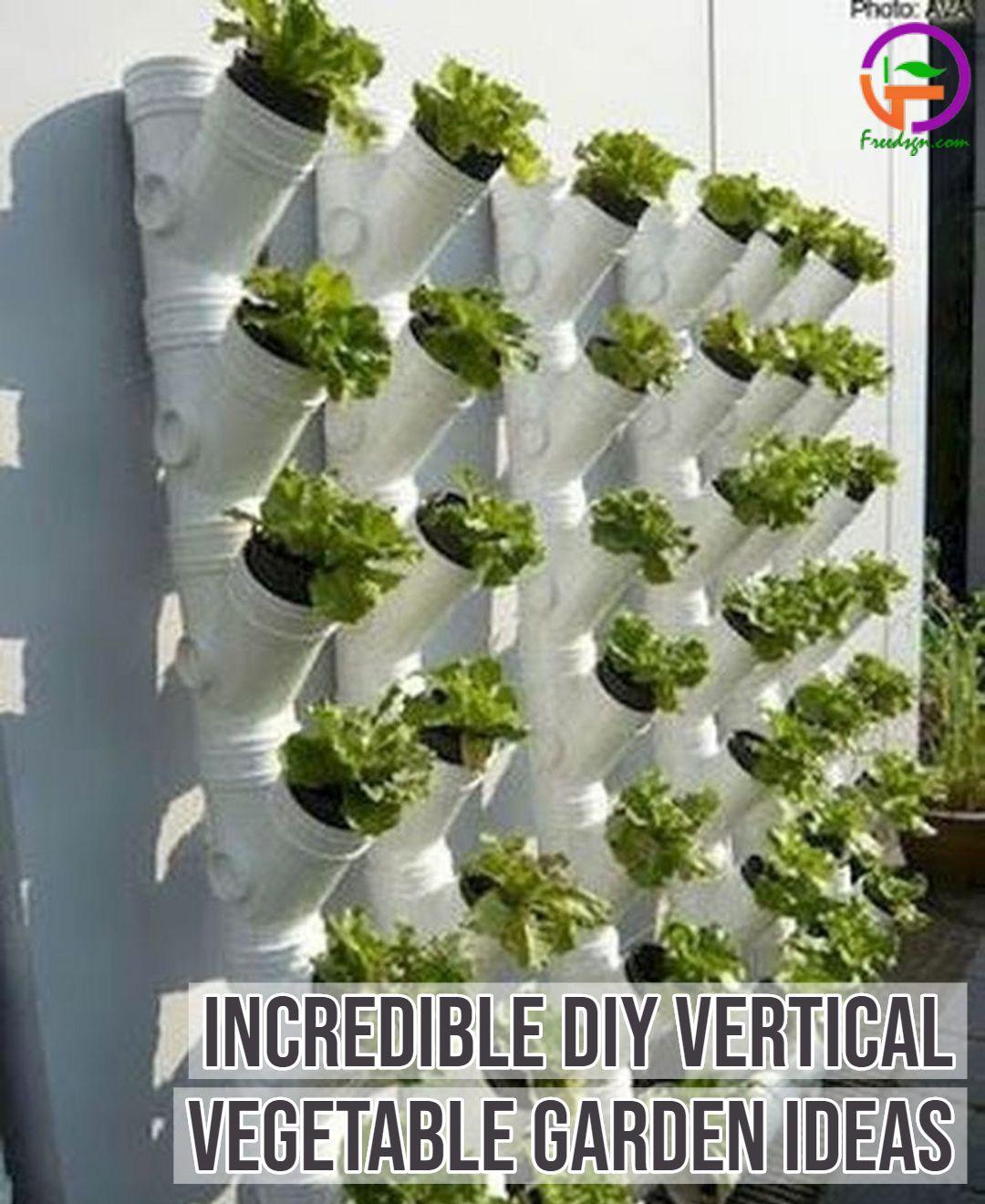15 Incredible Diy Vertical Vegetable Garden Ideas For Small Backyard Vertical Garden Diy Vertical Garden Design Vertical Vegetable Gardens Backyard vegetable garden ideas diy