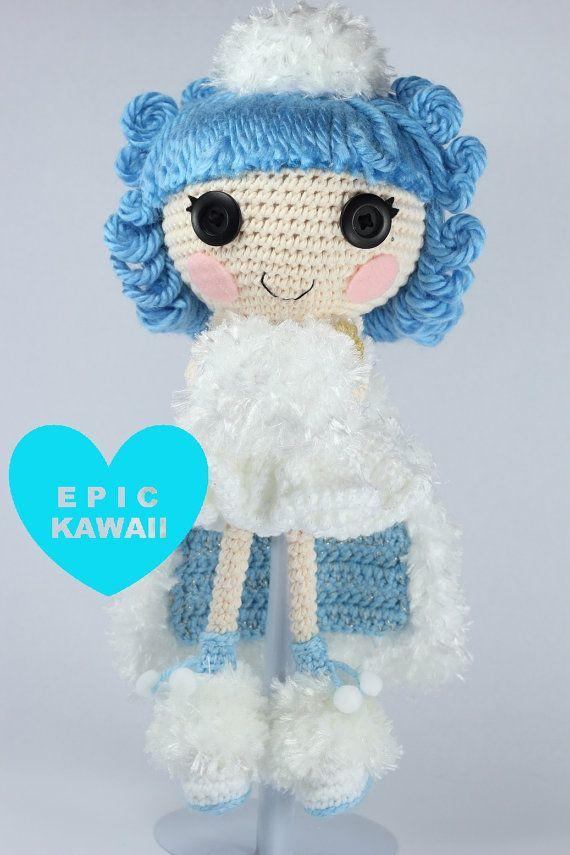 PATTERN: Ivory Crochet Amigurumi Doll | Pinterest