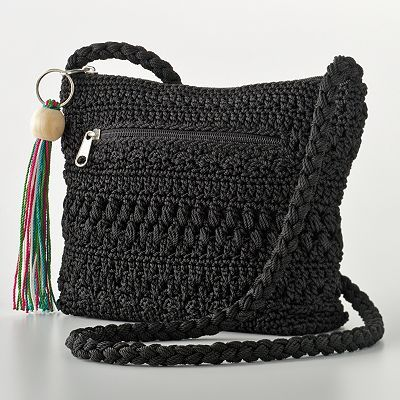 Vintage crochet cross-body bag (much like this one from Kohls ...