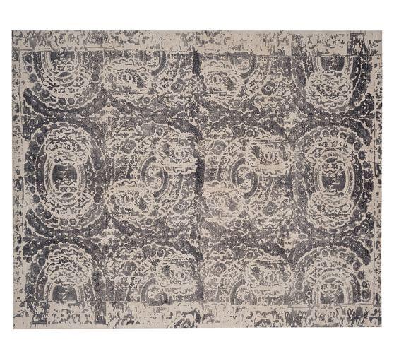 Bosworth Printed Rug Gray Grey Rugs Rugs Printed Rugs