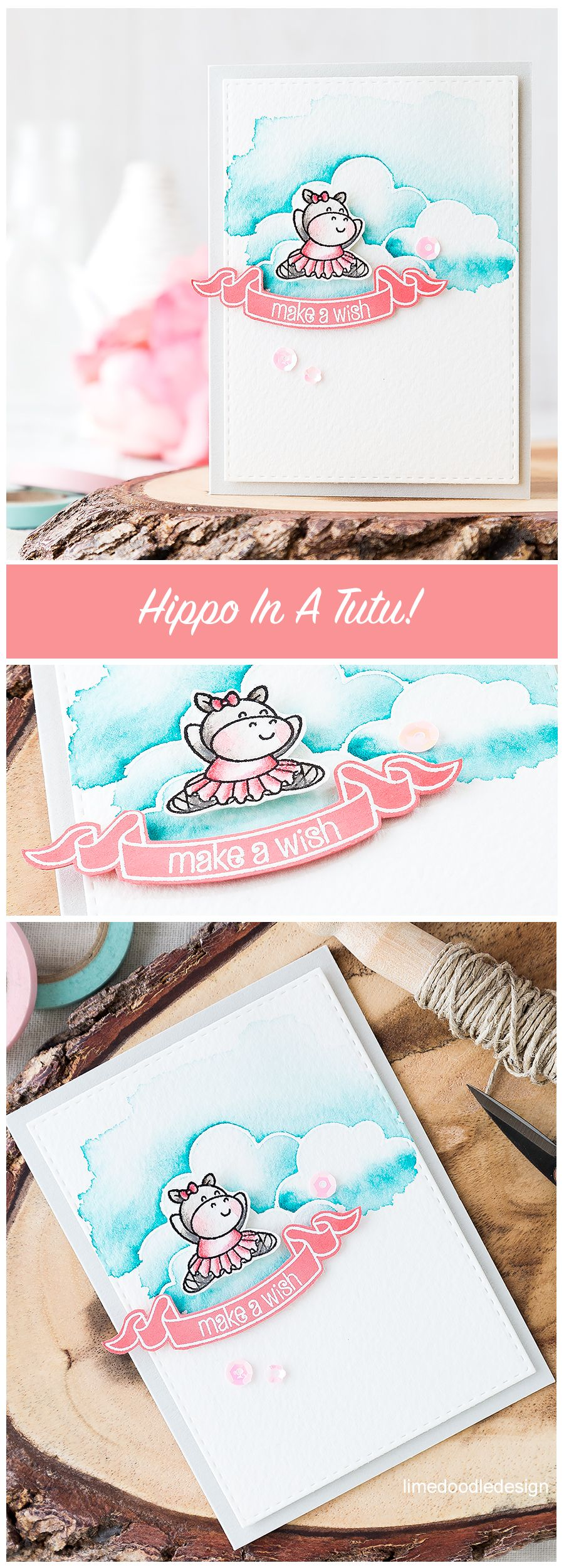 Make A Wish Hippo In A Pink Tutu! (With images