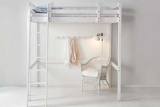 Letti a soppalco IKEA www. Milano Design Week Letto
