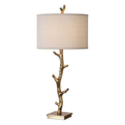 Uttermost Javor Tree Branch Table Lamp 27546 Bellacor Gold Table Lamp Table Lamp Lamp
