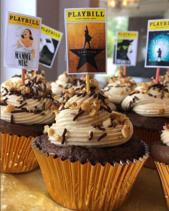 **Note: This Is For Les Miserables The Musical Cupcake
