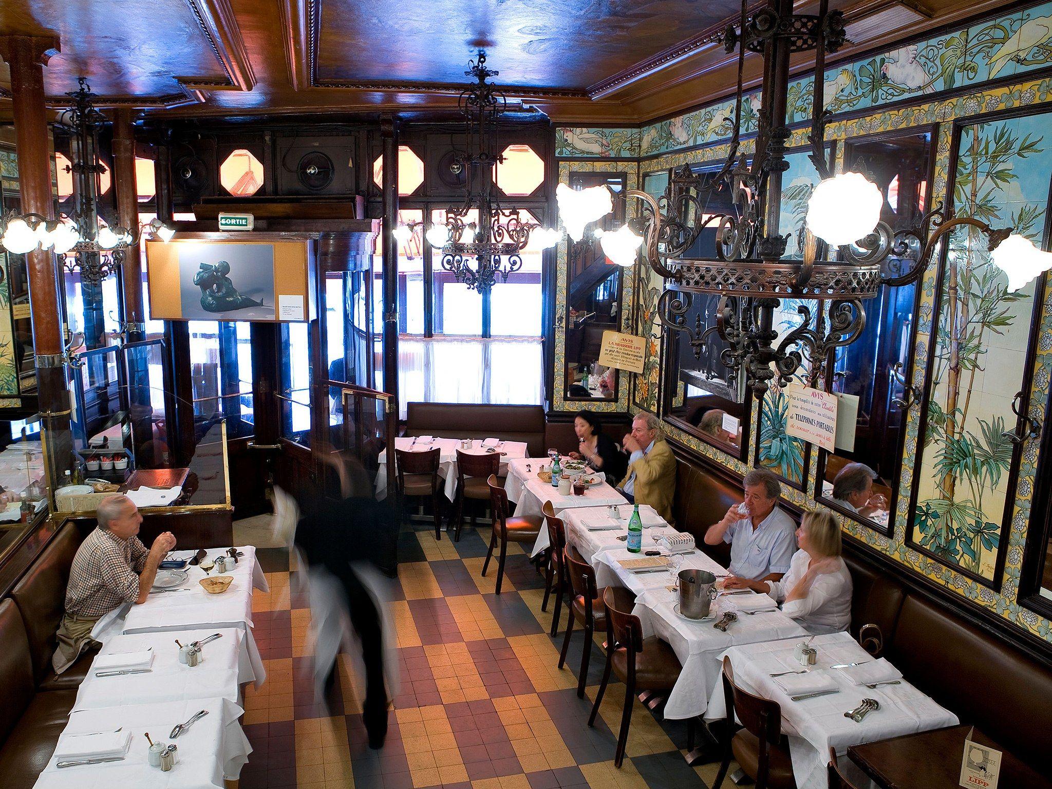 Brasserie Lipp Paris France Restaurant Review Brasserie Lipp