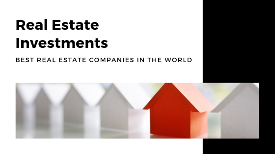 Real Estate Investments 1 Properties Investment Company Real Estate Investment Companies Investment Companies Top Real Estate Companies