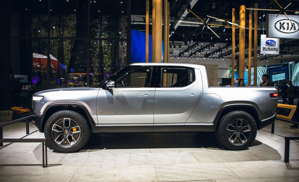 View Photos Of The Electric 2021 Rivian R1t Electric Pickup