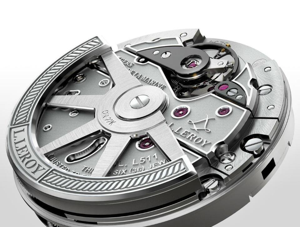 Basel 2013 L.Leroy Marine Chronograph (Görüntüler ile)