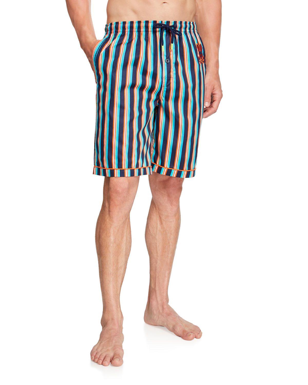 7bcd566308 PSYCHO BUNNY MEN'S LOGO-PRINT JAM SHORTS. #psychobunny #cloth ...