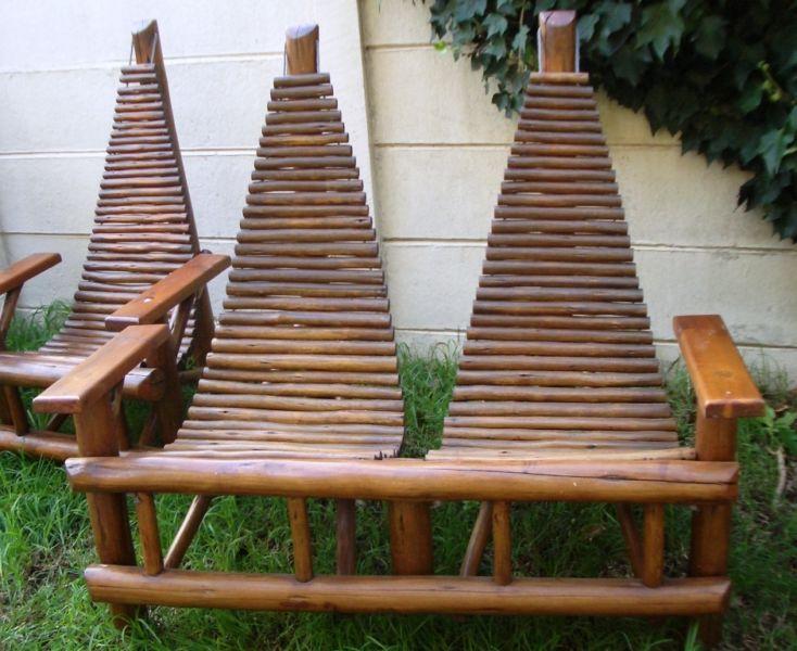 beautiful african furniture Beautiful Solid Wood Garden   Patio - outdoor küche mauern