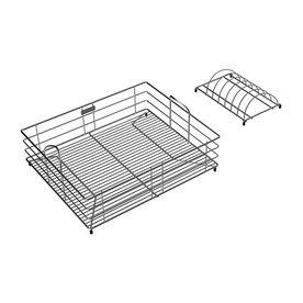 Elkay 18.0-In W X 15.0-In L X 7.0-In H Metal Dish Rack And Drip Tray ...