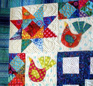 bird quilt 9   by uniquelynancy
