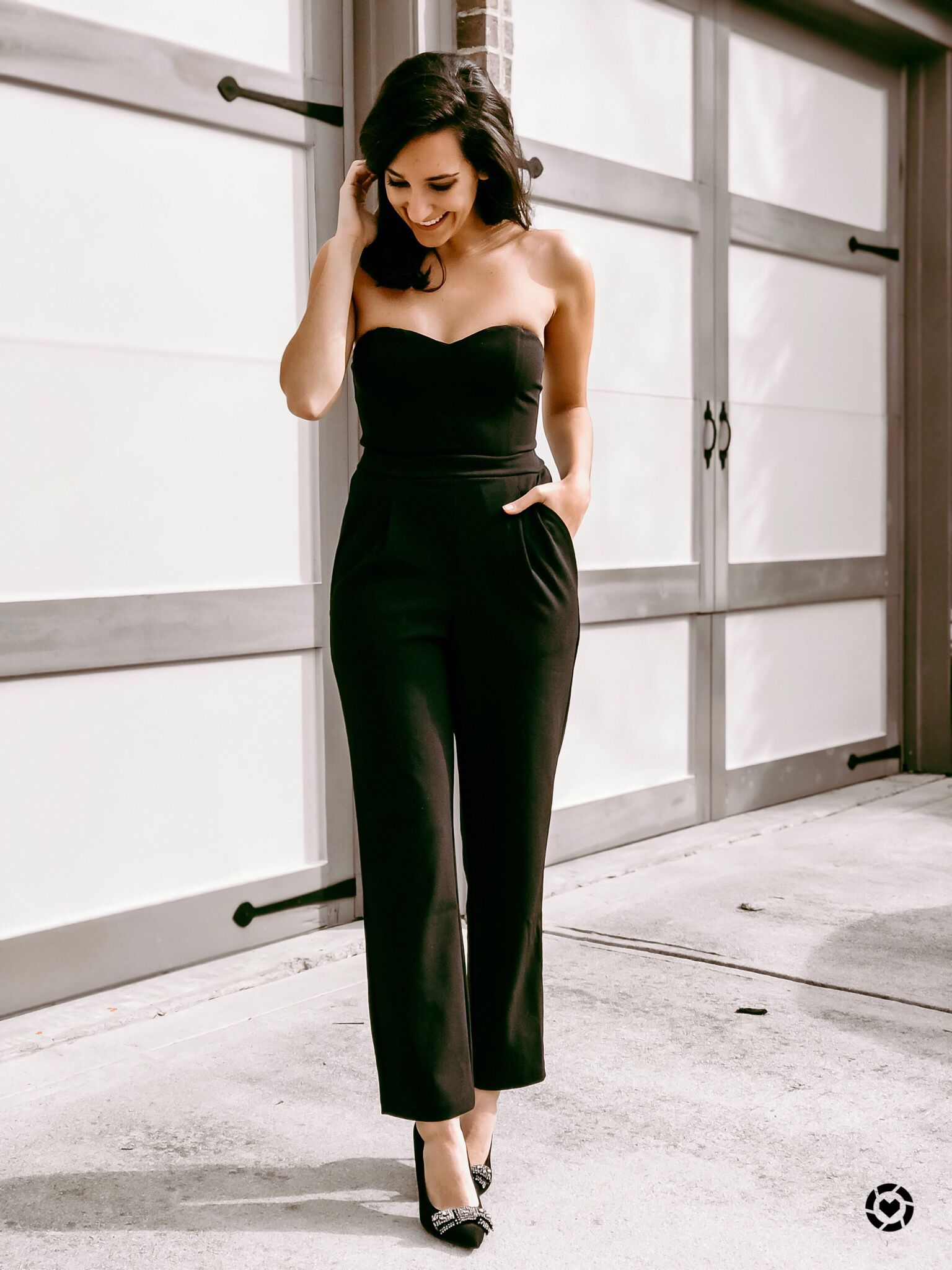c44d421260b Holiday party outfit - Christmas Eve outfit - New Year s Eve outfit - winter  wedding guest