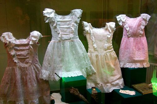 A set of summer dresses belonging to the grand duchesses.