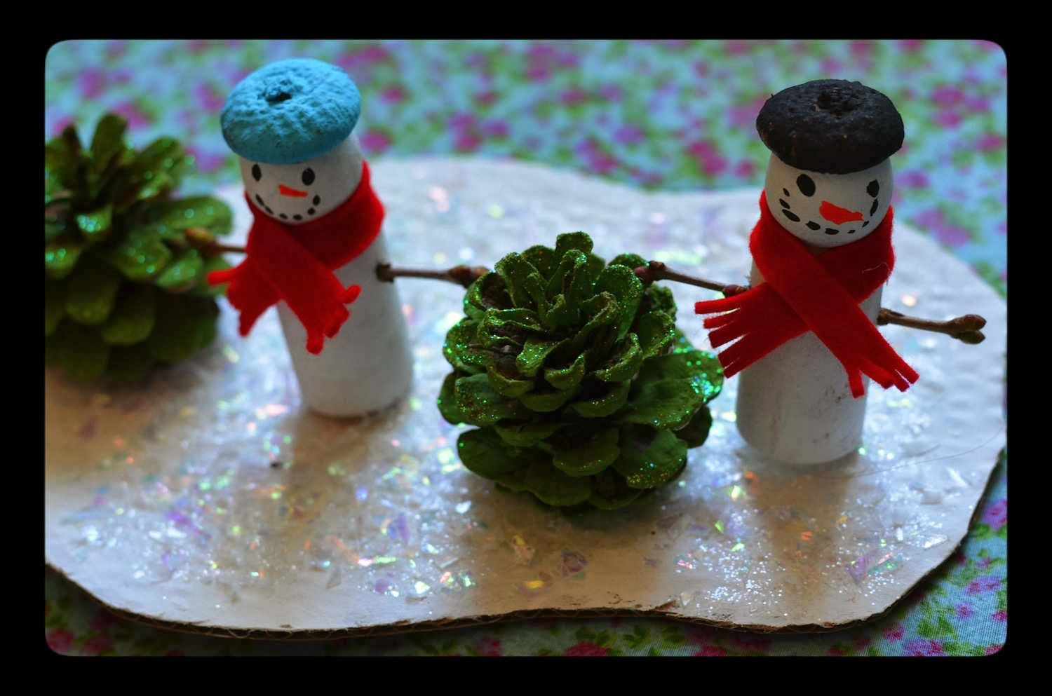 Twig and Toadstool: Winter - Snowman Playscape