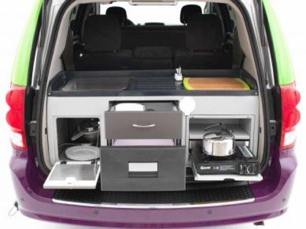 Jucy Dodge Caravan To Motorhome Conversion Camper Mini RV 003