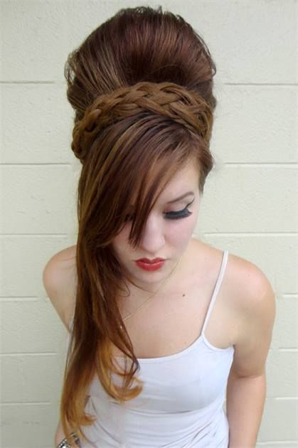 Amy Winehouse Inspired Beehive The How To Behive Hairstyles