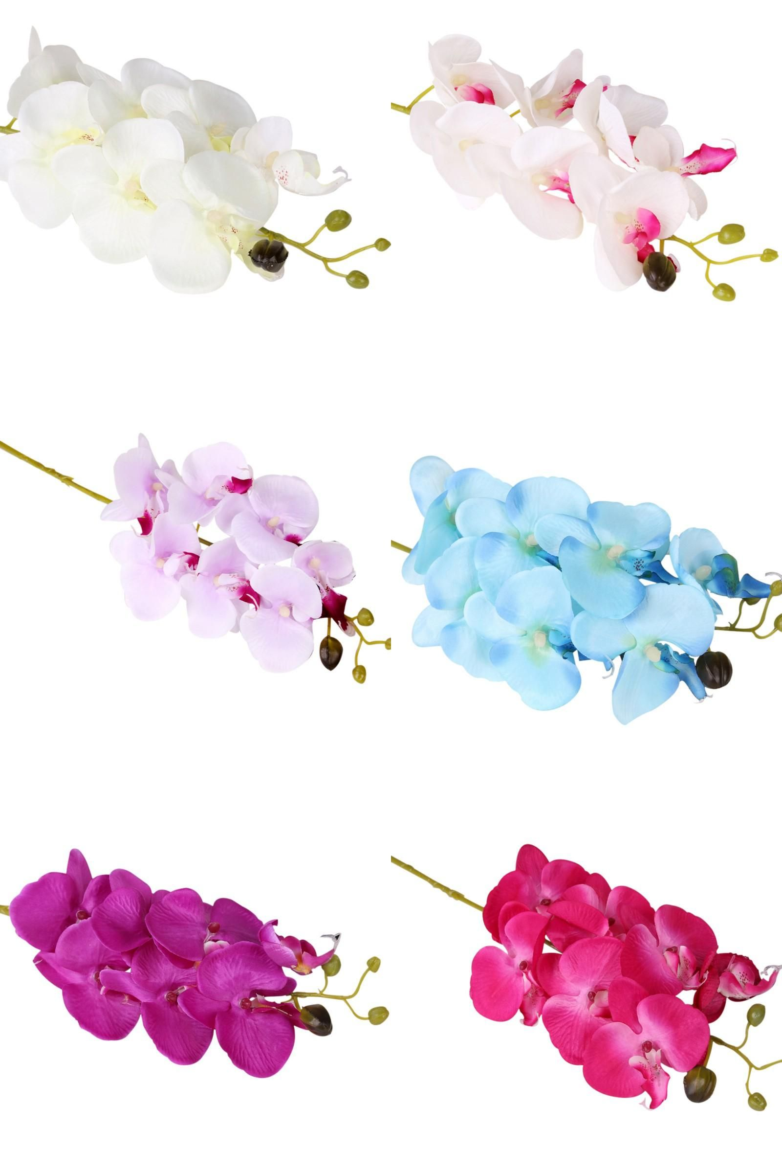 Wedding decorations home  Visit to Buy Artificial Orchid Flowers Real Touch Artificial