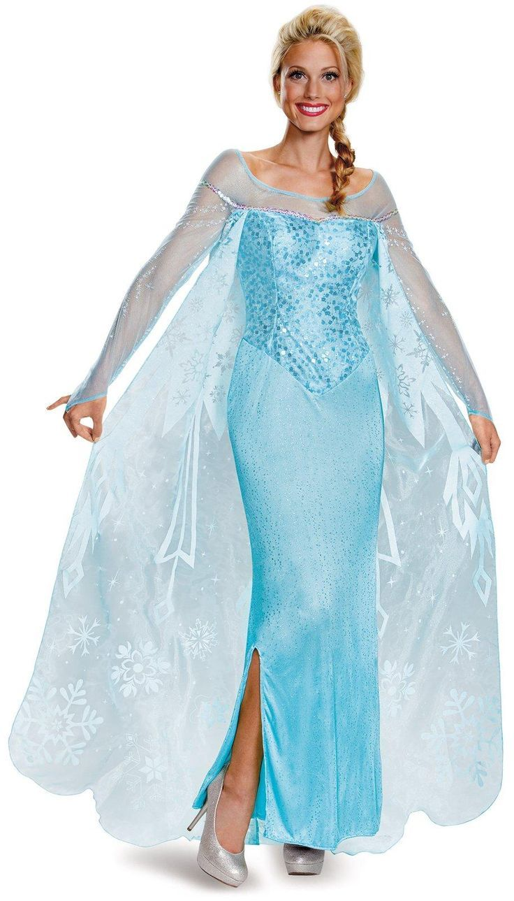Frozen Elsa and Anna costume ideas for the entire family this Halloween!  sc 1 st  Pinterest & Frozen Elsa and Anna Costumes that will Melt Your Heart | Pinterest ...