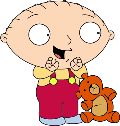 Stewie And His Trusted Teddy Bear Rupert Stewie Griffin